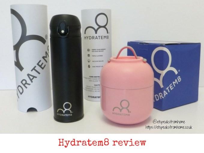 Hydratem8 Cup & Food Pot Review
