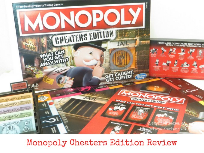 Monopoly cheaters edition review