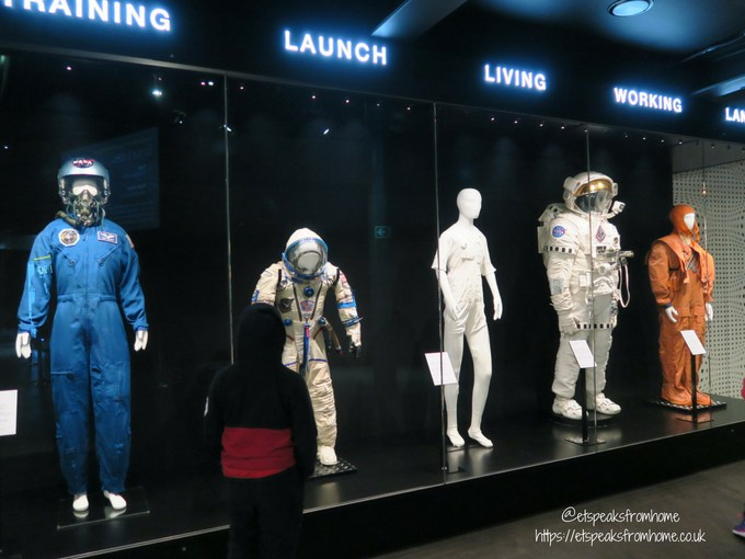 National Space Centre space suit