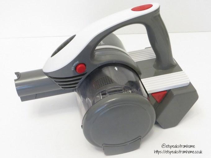 Russell Hobbs Sabre Vacuum side