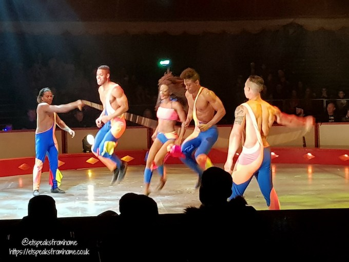 The Gandeys Circus Greatest Showmen Tour african warriors