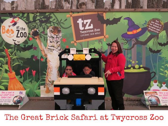 The Great Brick Safari at Twycross Zoo