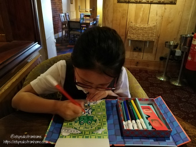 Tiger Tribe Crafts 3d colouring
