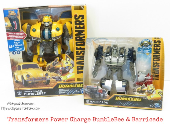 Transformers Power Charge BumbleBee & Barricade Review