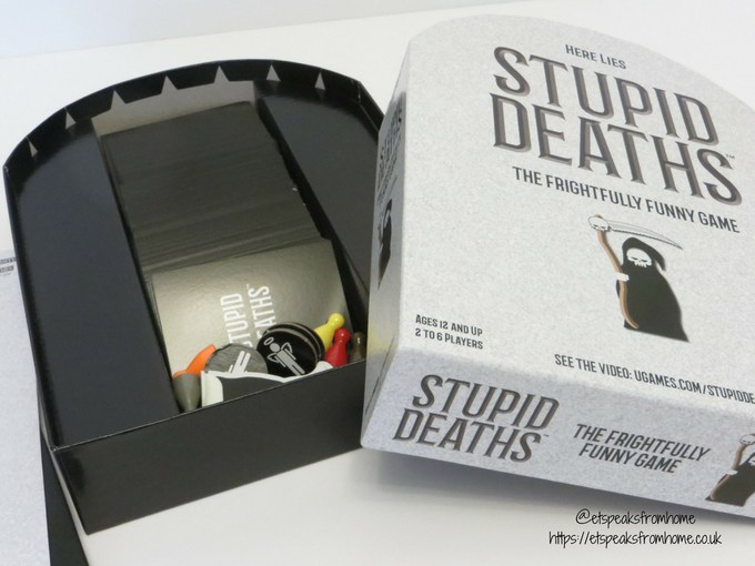 stupid deaths game contents