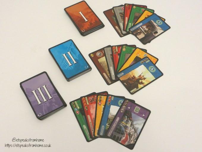 7 wonders game cards