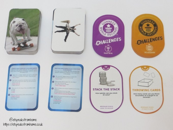 Guinness World-Records Game cards