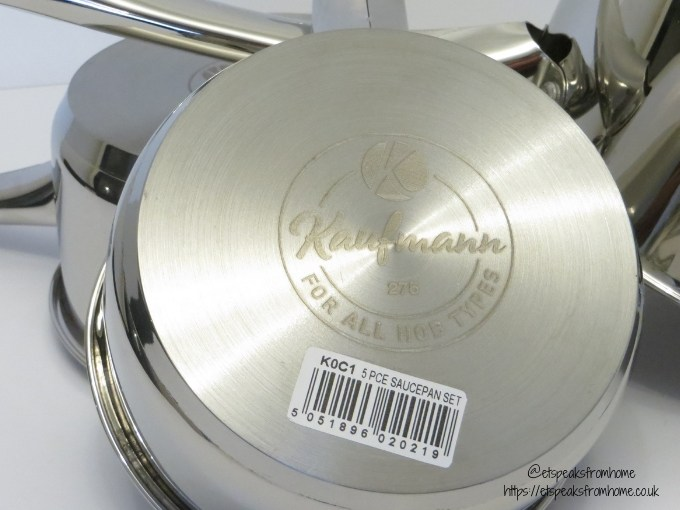 Kaufmann kitchenware impact forged base