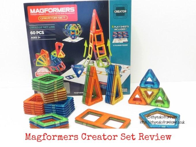 Magformers Creator Set Review