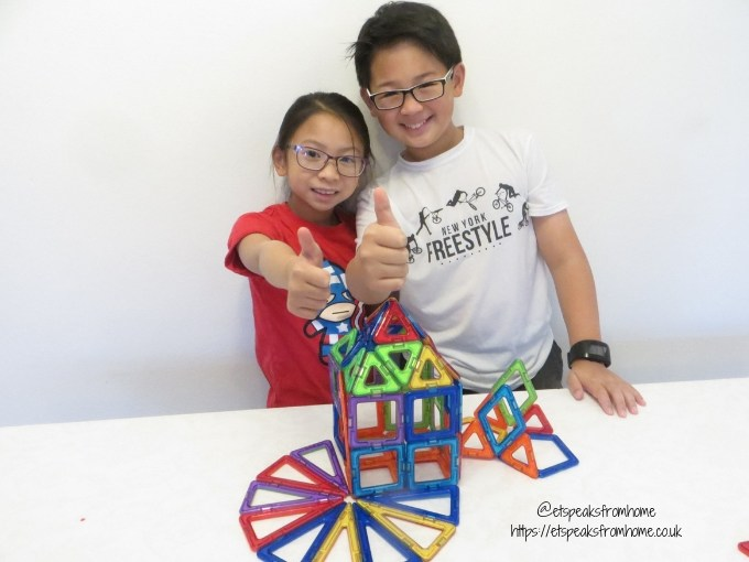 Magformers Creator Set playing