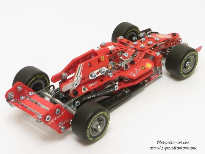 Meccano Formula 1 Ferrari back