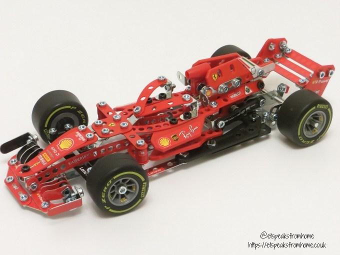 Meccano Formula 1 Ferrari side left