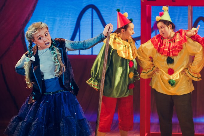 Pinocchio at The Old Rep The Blue Fairy. Photo by Anda Latsa