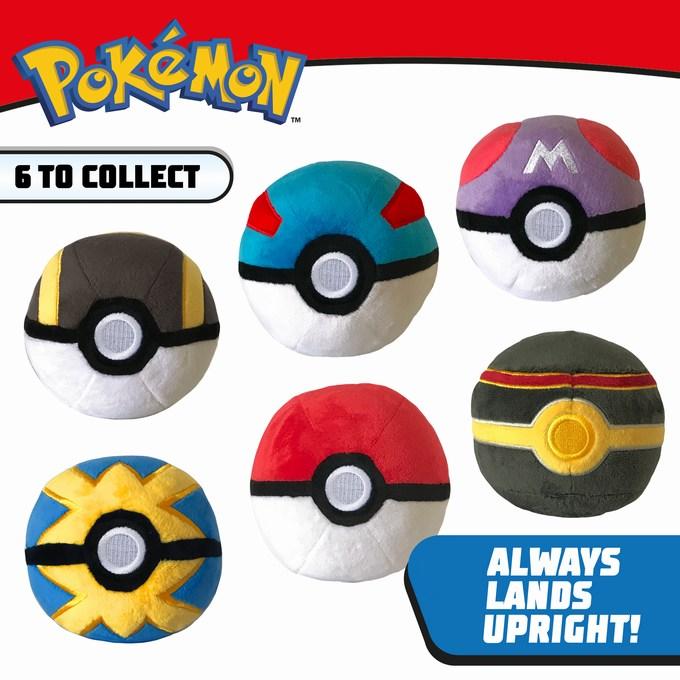 Pokemon 4 Inch Poke Ball Plush