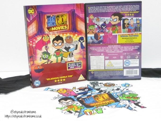 Teen Titans GO! To The Movies dvd review