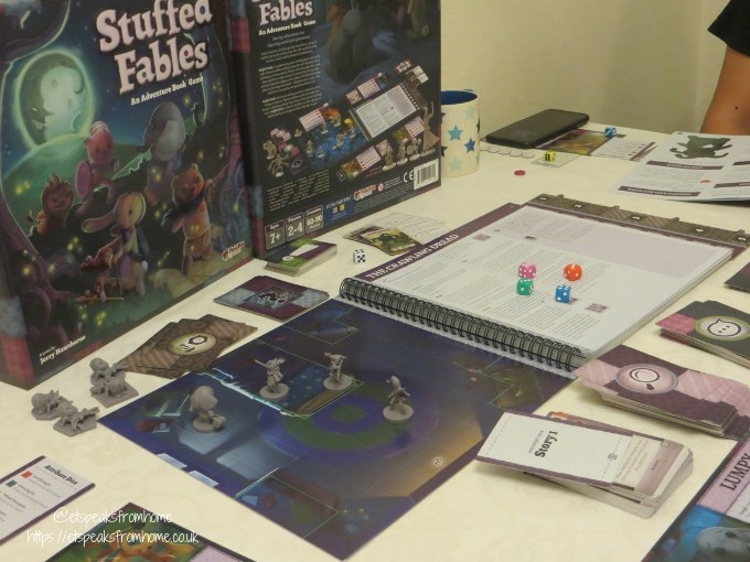 stuffed fables playing