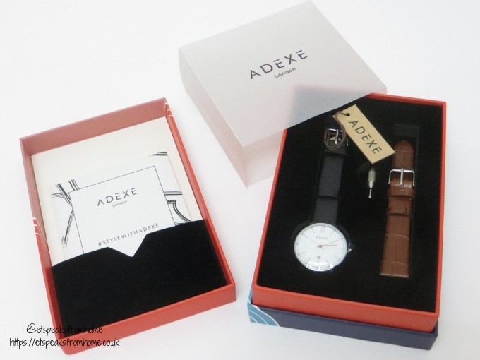 2019 Challenge with ADEXE Watch London mac gift