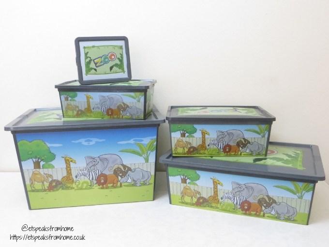 Maqio Boxes 5 set storage boxes