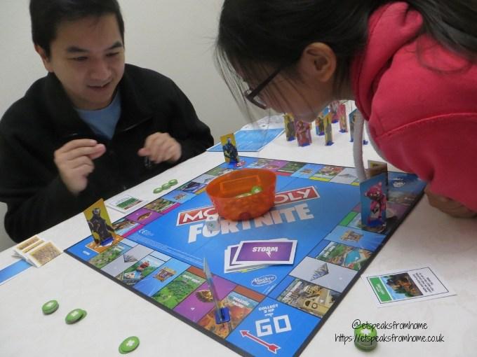 Monopoly Fortnite playing