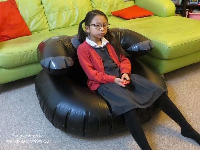 Paladone Gift Guide for Gamers playstation inflatable chair