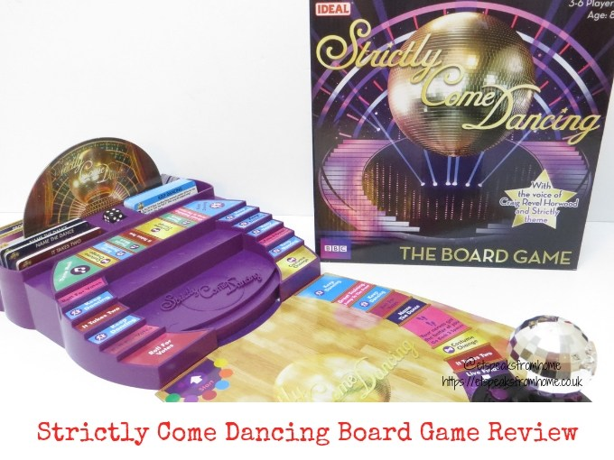 Strictly Come Dancing Board Game Review
