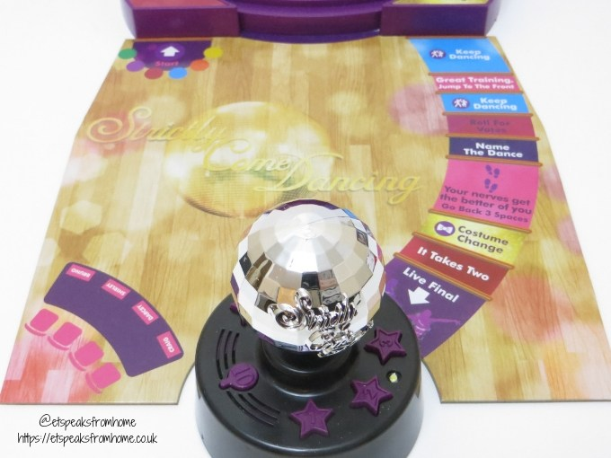 Strictly Come Dancing Board Game glitter ball