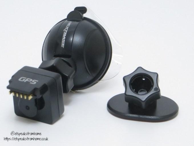 nextbase 512GW dash cam adapter