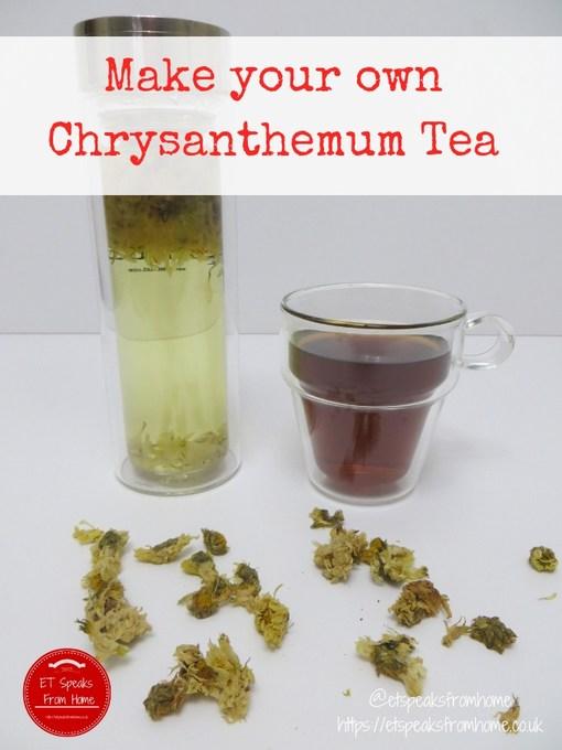 Make your own Chrysanthemum Tea