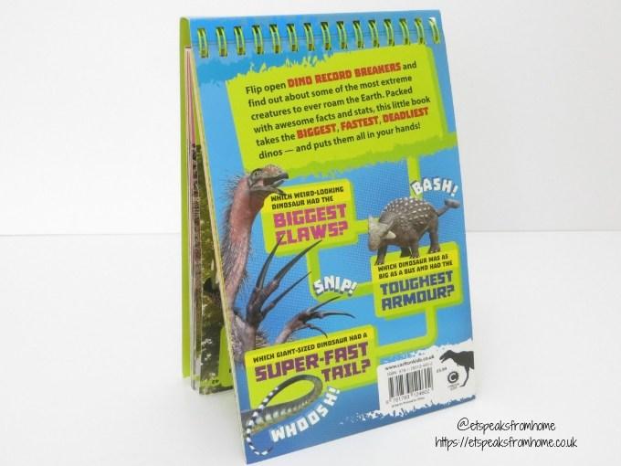 Dino Record Breakers hardbook