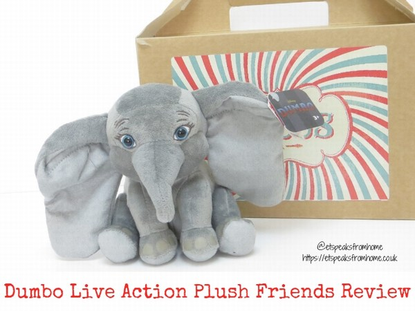 Disney Dumbo Live Action Plush Review