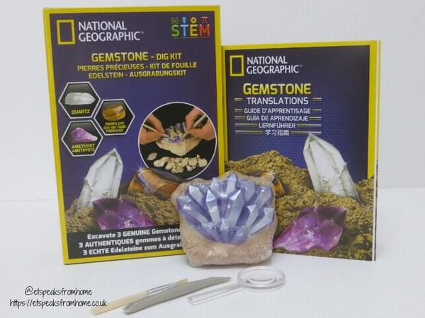 National Geographic STEM gemstones kit