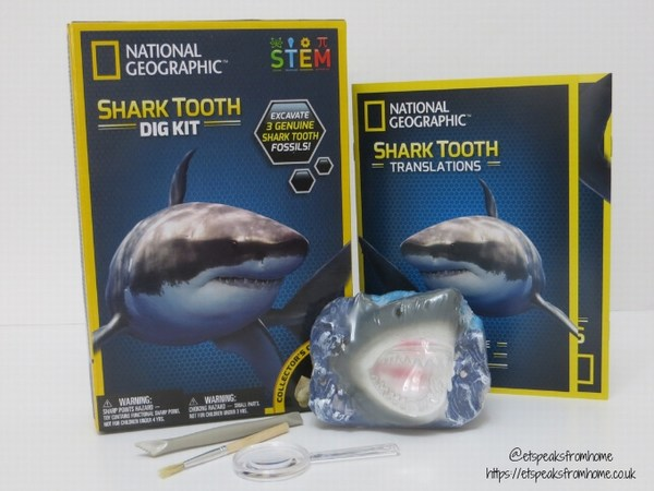 National Geographic STEM shark kit