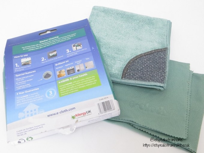 National Spring Cleaning Week with e-cloth kitchen cleaning
