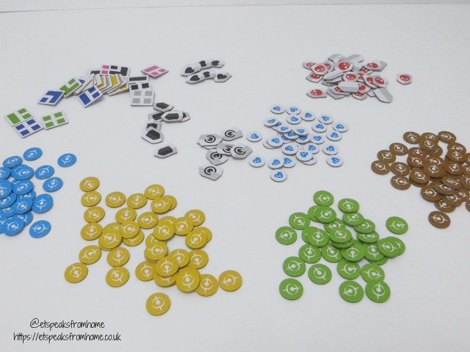 T.I.M.E Stories Game tokens