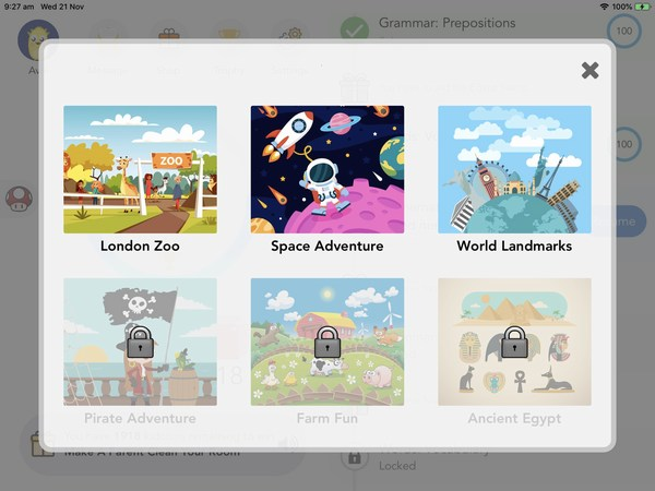 kidsmart app reward unlock