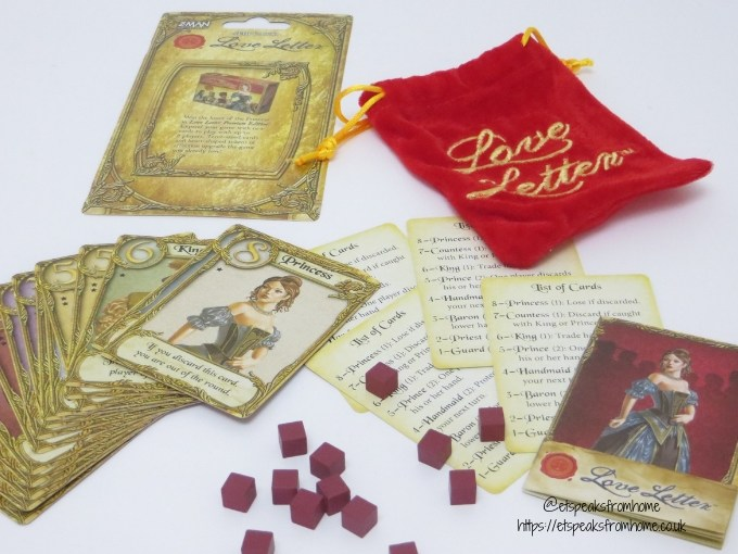 love letter game contents