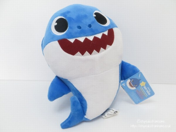 pinkfong Baby Shark Daddy Singing Plush