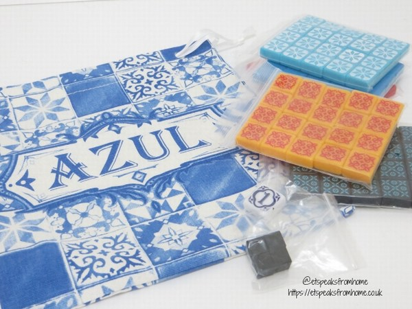 Azul Board Game resin tiles