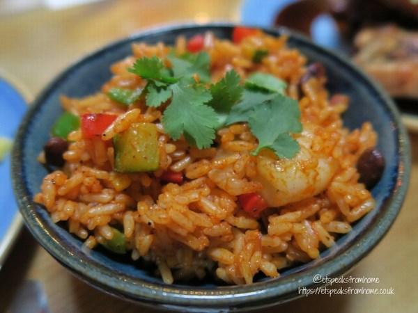 Bodega Bar & Cantina ecuadorian arroz con gambas