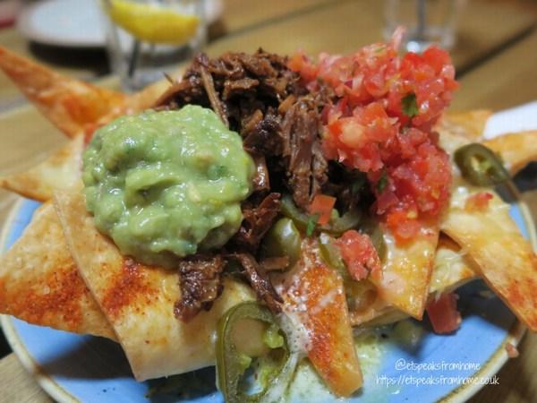 Bodega Bar & Cantina nachos