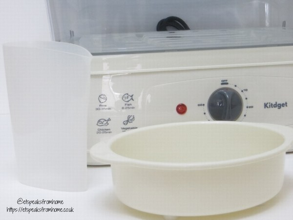 Kitdget 25L Professional Food Steamer refill & bowl