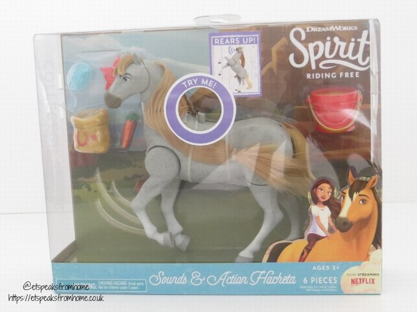 Spirit Riding Free sound & action review