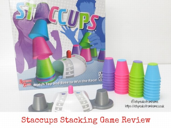 Staccups Stacking Game Review