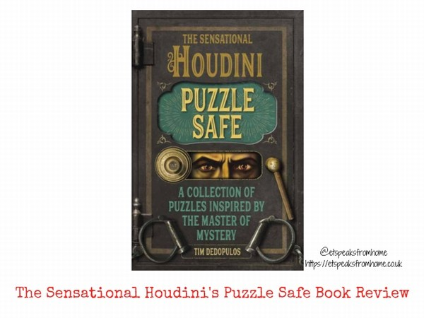 The Sensational Houdini's Puzzle Safe Book Review