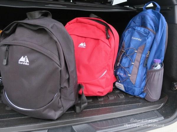 Alton Towers Resort Stargazing Pods millets backpacks