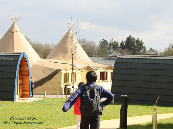 Alton Towers Resort Stargazing Pods tipi