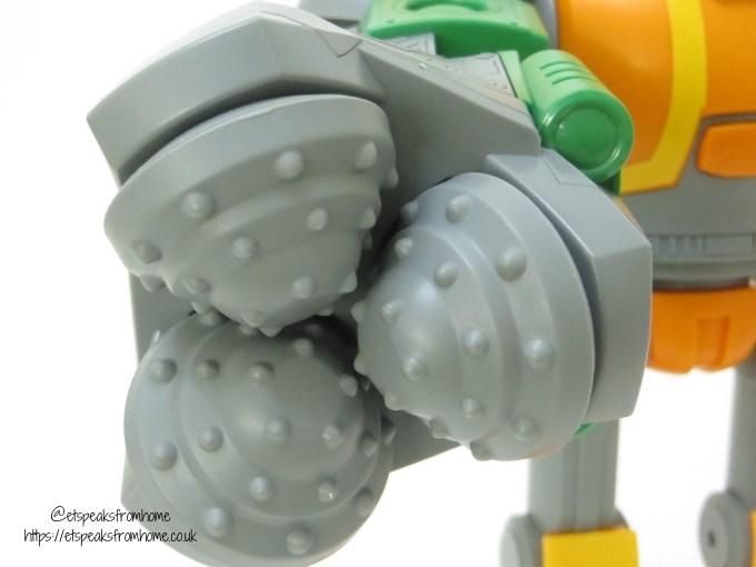 Bandai Robozuna Mega Mangle arms