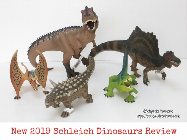 New 2019 Schleich Dinosaurs Review