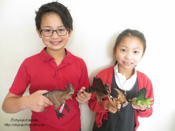 New 2019 Schleich Dinosaurs playing