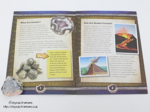 national geographic geodes booklet